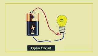 ما الفرق بين الدائرة الكهربائية المفتوحة والدائرة المغلقة ودائرة القصر