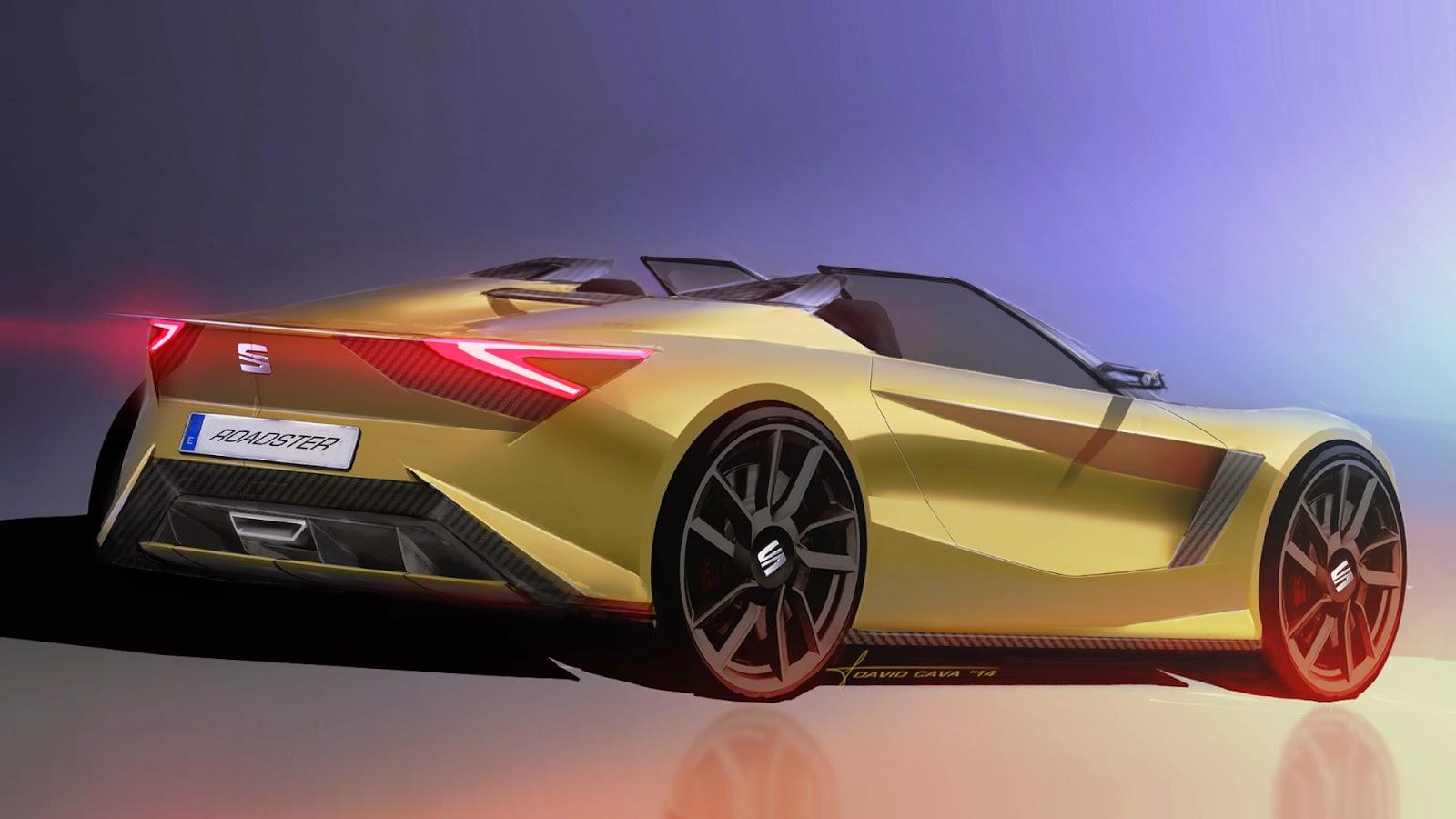 Spanish Home Design Seat Roadster Design Study For A Spanish Mazda Mx 5
