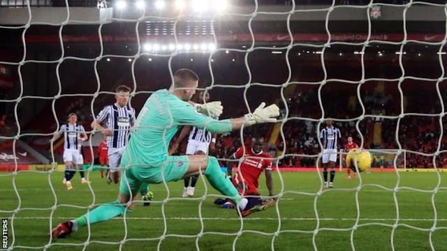 [Watch Goals Highlight] Liverpool 1 – 1 West Brom