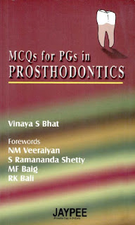 MCQs for PGs in Prosthodontics