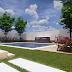 Downlaod Raj Villa Tutorial Files |  Rendering Backyard in Enscape 3D