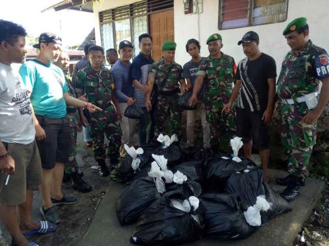 680 Kantong Cap Tikus Diamankan TNI di Kota Ternate