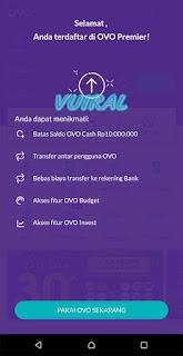 Cara Upgrade Akun OVO Premier 5
