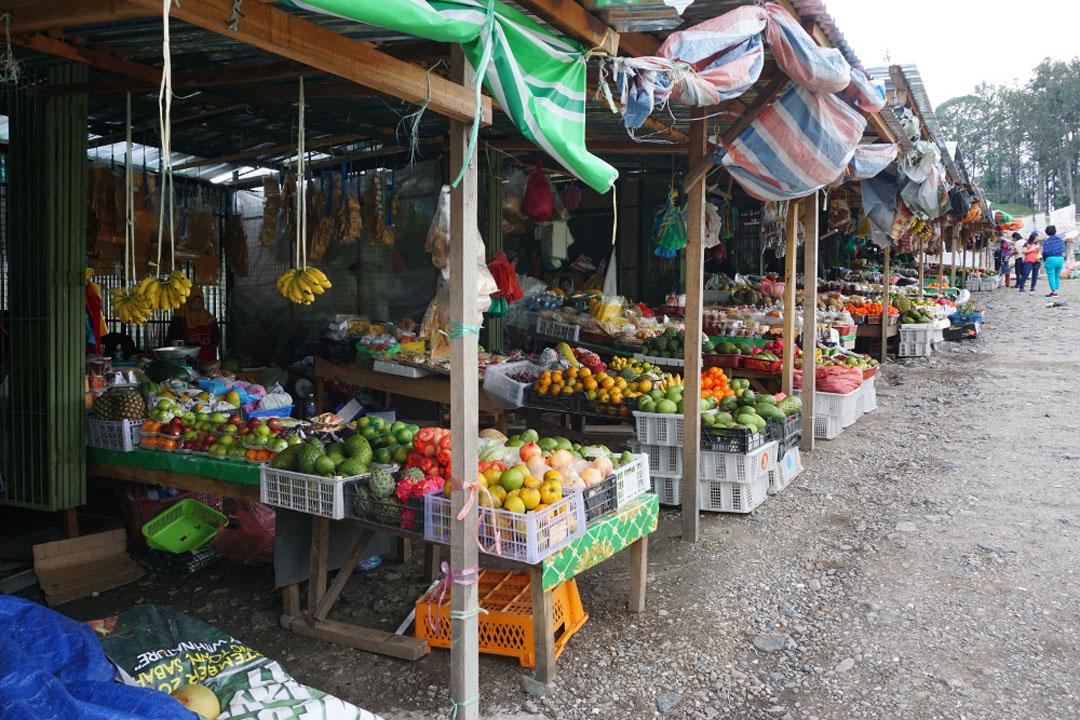 Fresh Market of Kundasang