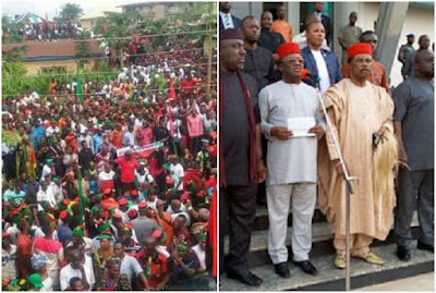 Denial of Accusing FG over IPOB members Killings; Who are South-East governors afraid of?