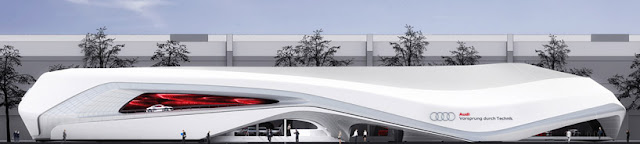 Front facade of Audi Ring