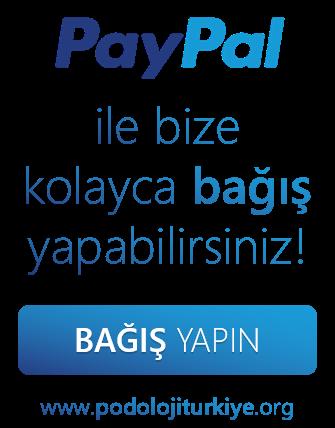 Bize bağış yapın | Podoloji Türkiye