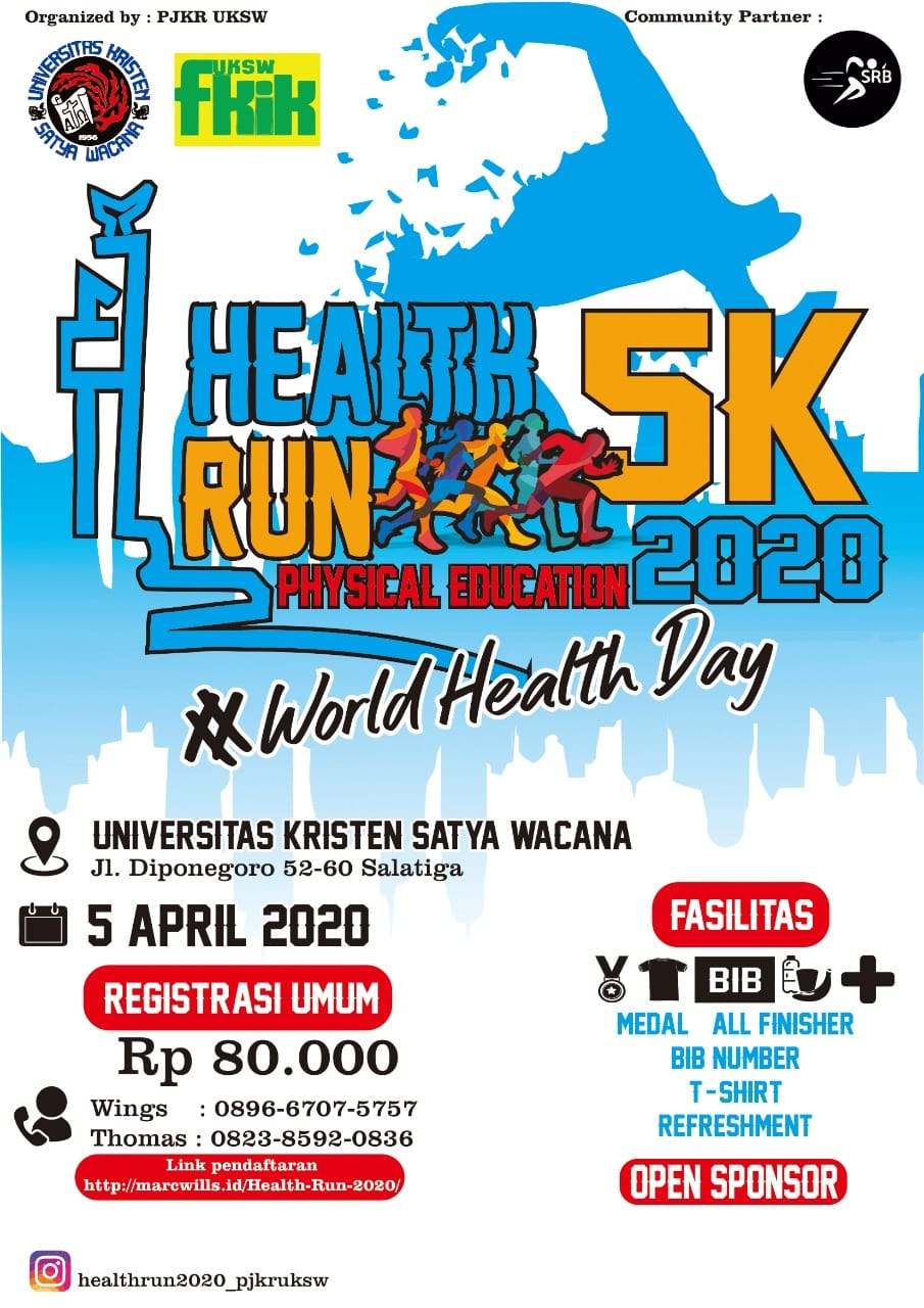 UKSW Salatiga Health Run • 2020