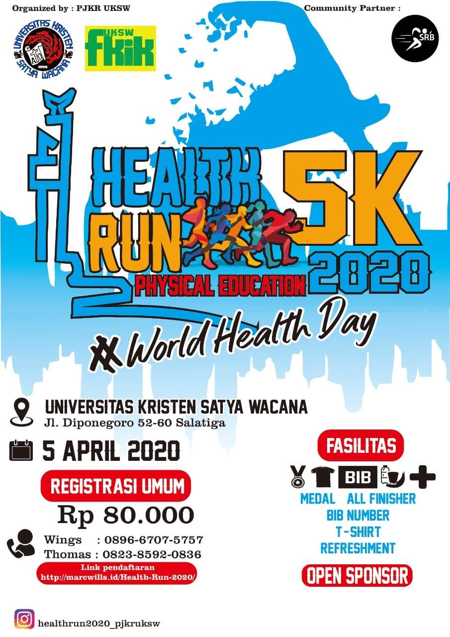 UKSW Salatiga Health Run • 2020