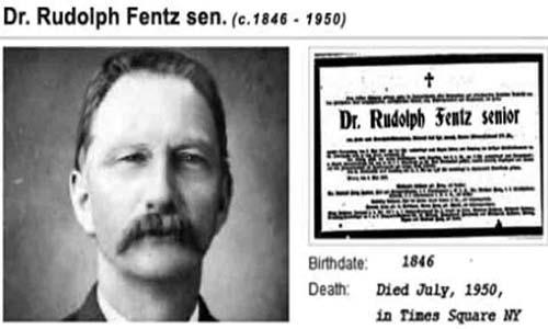 Rudolph Fentz el viajero del tiempo