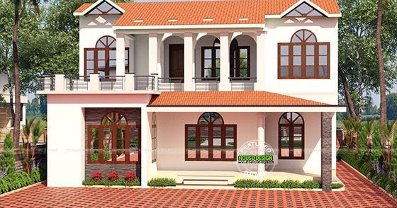 Kerala Home Design And Floor Plans: Sloping Roof 2800 Sq