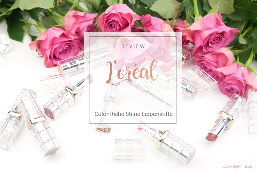 L'Oreal - Color Riche Shine Lippenstifte