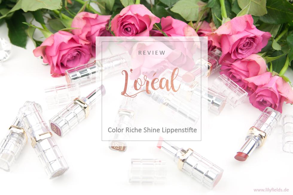 L'Oreal - Color Riche Shine Lippenstifte
