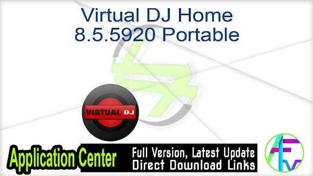 Virtual DJ Home 8.5.5920 Portable