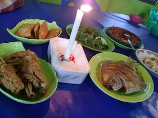 aneka masakan di restoran swarga banjarbaru