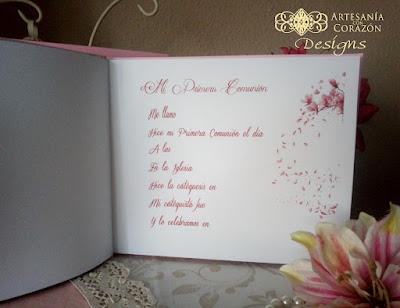 libros de firmas comunión