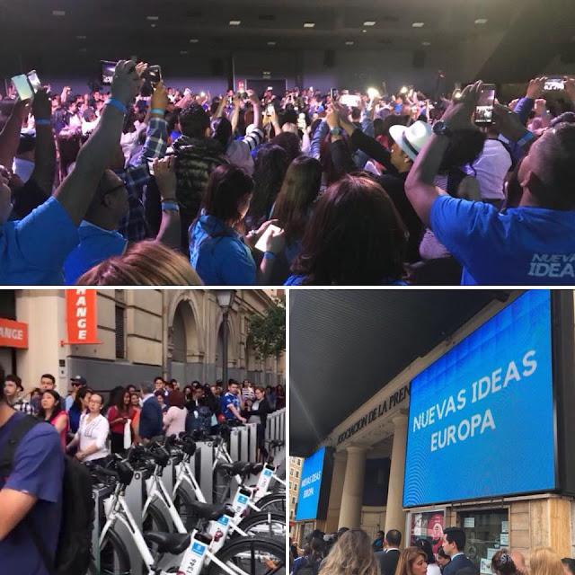 Salvadoreños Participan en el Encuentro Europeo de Nuevas Ideas 2018