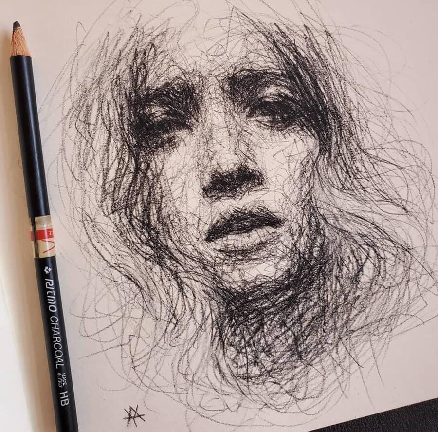 11-Scribble-Portraits-Liz-Y-Ahmet-www-designstack-co