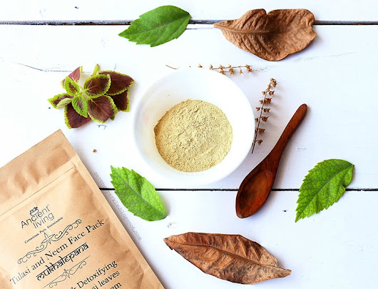 Ancient Living Tulasi And Neem Face Pack Review