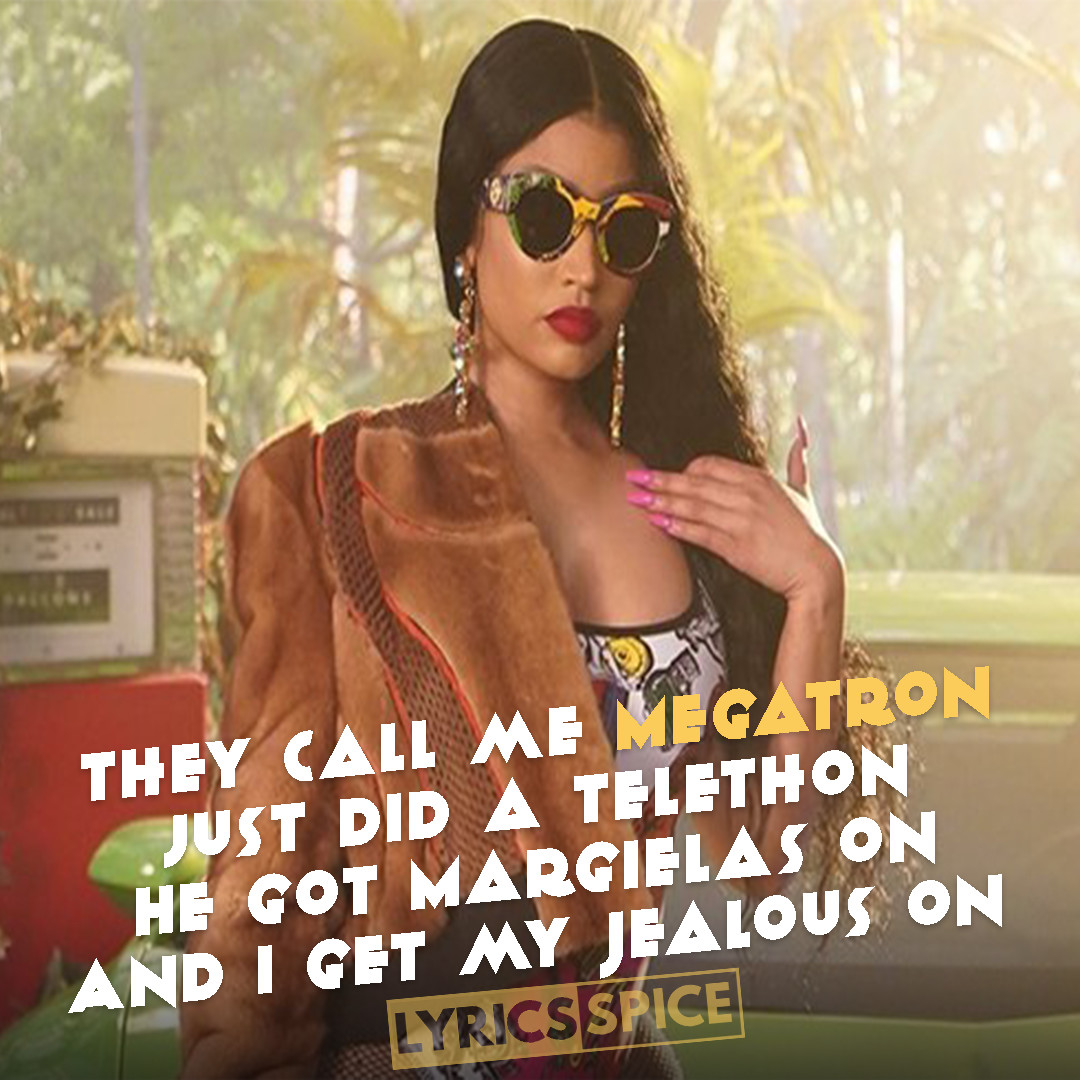 MEGATRON LYRICS - Nicki Minaj | LyricsSpice.com