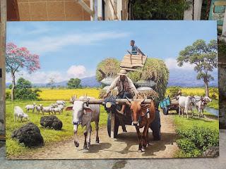 art painting- painter kediri