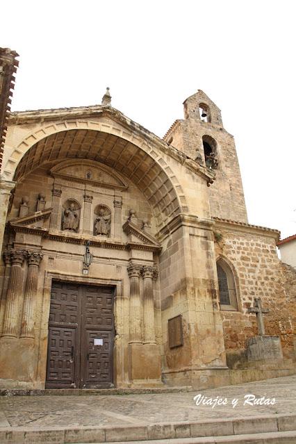 Iglesia de San Cosme y S Damian, Poza de la Sal