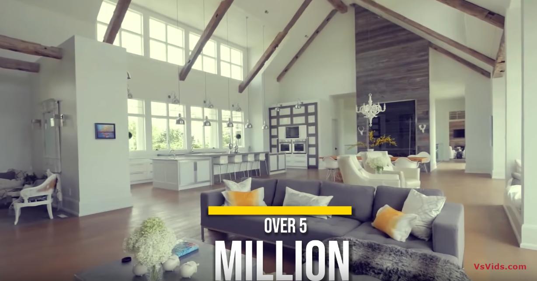 10 Photos vs. Inside Bieber's Ridiculous $100 Million Dollar Mansion - Luxury Home Tour