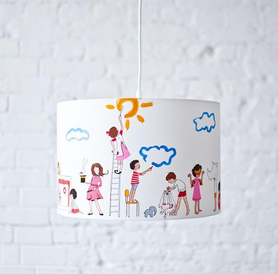 kolorowe lampy pokój dziecka
