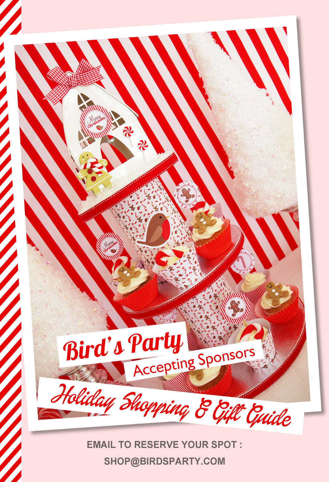 Bird's Party Holiday Gift Guide 2014  - BirdsParty.com