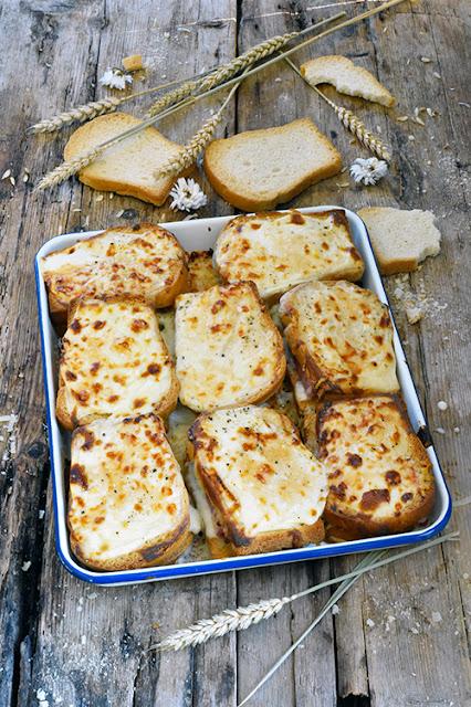 Croque-monsieurs aux biscottes 8