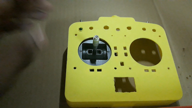 adding joystick to transmitter