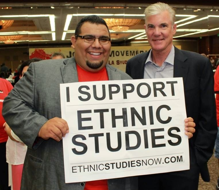 Tom Torlakson Supports Ethnic Studies! Marshall Tuck? Well, he does that Arizona thing…