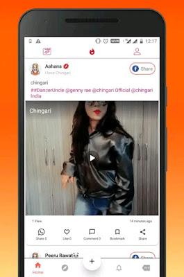 Chingari whatsapp status viral videos and chats Full Information