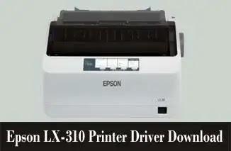 Epson LX-310 Printer Driver Download