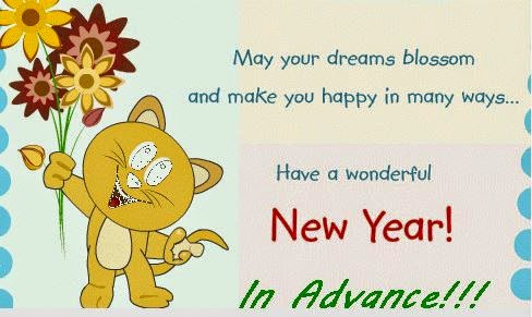 Advance Happy New Year 2016 Wishes Images for Pinterest
