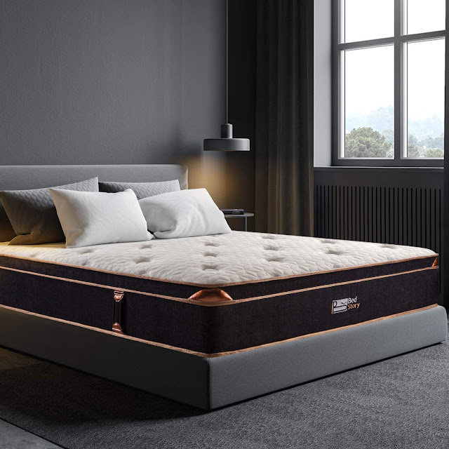 BedStory 12 Inch Gel Hybrid Mattress