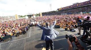 Una imagen vale mas que mil palabras, una actividad que dejo dicho Leonel presidente pal 20