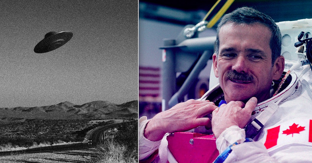 Astronaut Chris Hadfield Says Those Believing That UFOs Are Aliens From Another World Are 'Idiots'