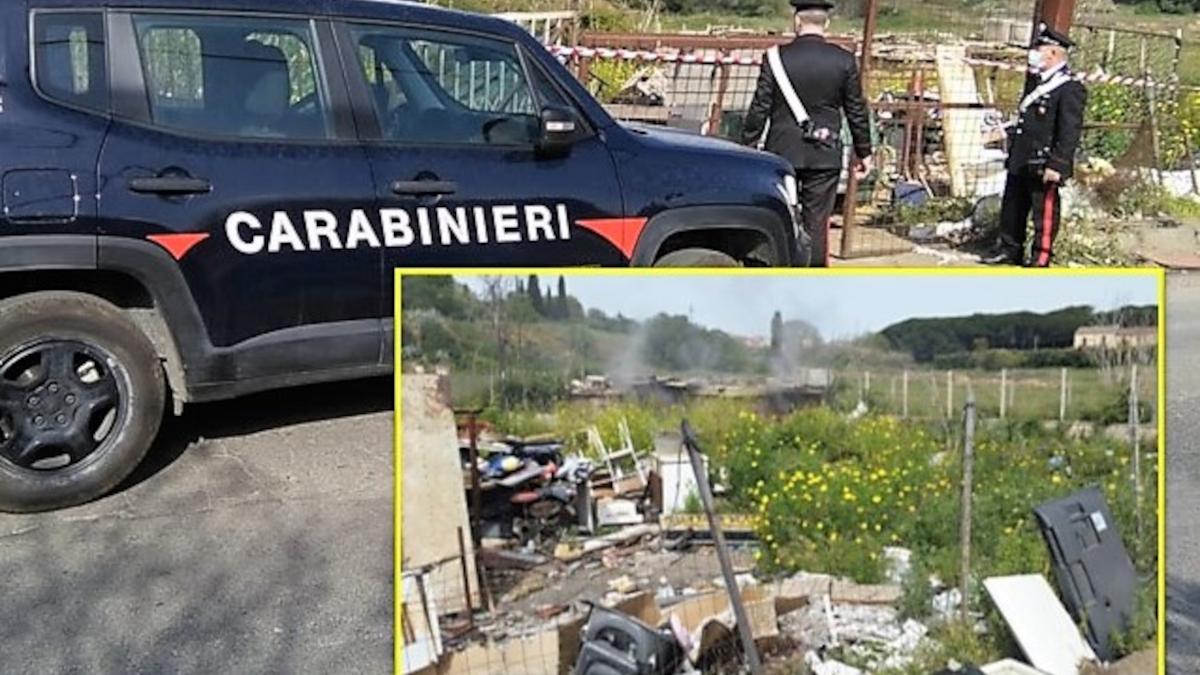 Carabinieri discarica abusiva Caltagirone