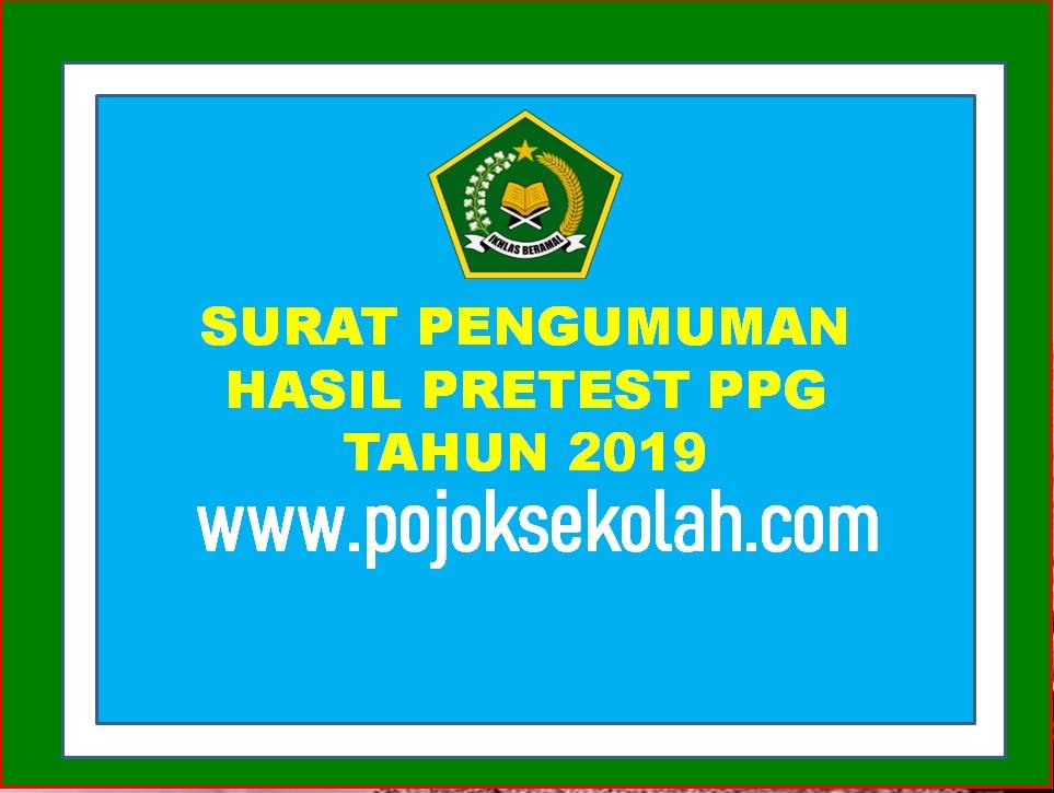 Pengumuman Hasil Pretest PPG