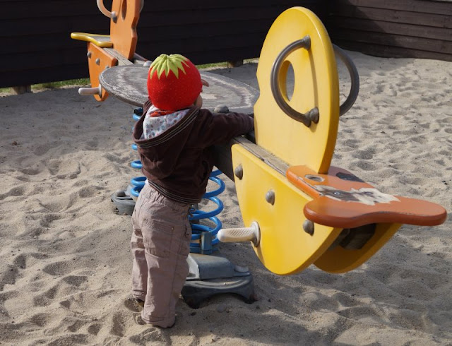 Tolle Erlebnisse in und um Blavand: Ausflugstipps für Familien. In Blavand findet man auch einen kleinen Spielplatz für die Kinder.