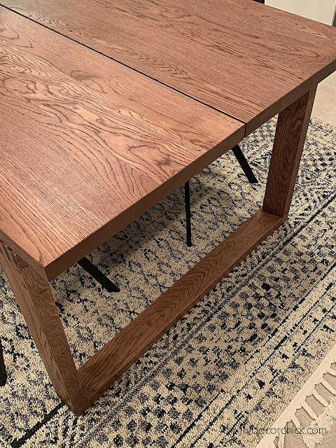 modern wood table ikea