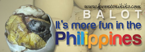 Balot - It's more fun in the Philippines