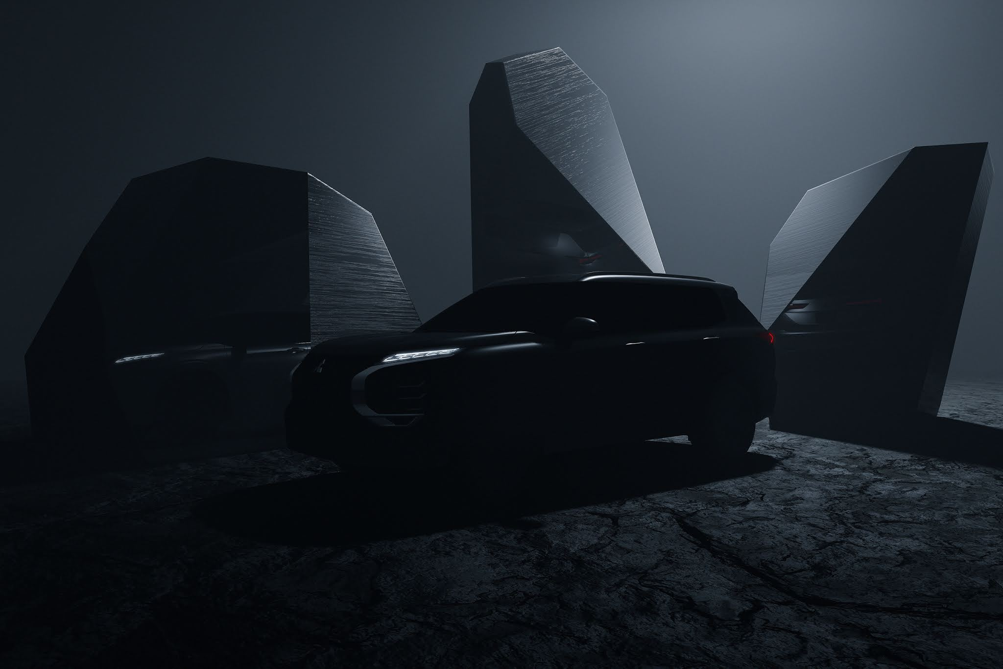 MITSUBISHI MOTORS Provides First Tease of All-new OUTLANDER - Global Reveal