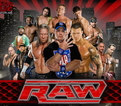 WWE Monday Night Raw 10 Oct 2016