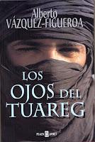 portada del libro los ojos del tuareg