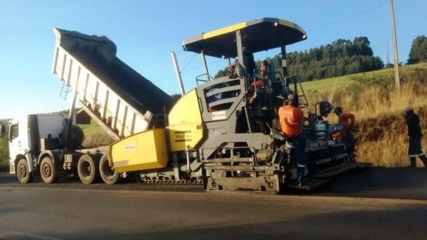 Restauração da ERS-324 iniciou em maio deste ano e abrange o trecho de 183,89 km - Foto: Divulgação/Daer