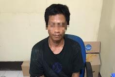 Polres Sambas Amankan Resiidivis Tindak Pidana Narkotika Jenis Shabu