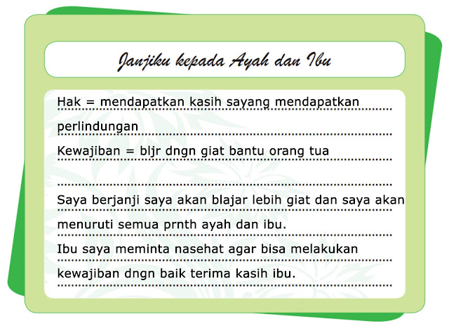 Kunci Jawaban Tematik Kelas 5 Tema 6 Subtema 2 Pembelajaran 6
