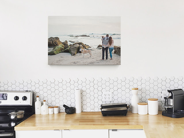 gift idea #4: canvas print for mom